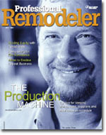 Tim Lassiter featured on the cover of Professional Remodeler