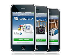 OnSite Mobile Applications for iPhone