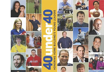 ConstructionSuite User Named One of Professional Builder's Top 40 Under 40