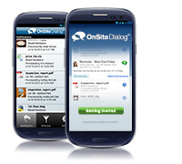 New OnSite Dialog Mobile App for Android