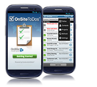 New OnSite ToDos Mobile App