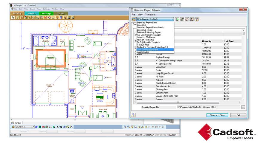 UDA ConstructionSuite - CAD Integration