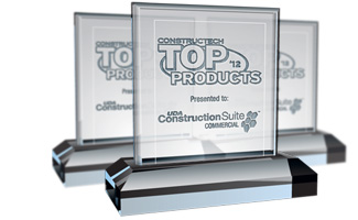 UDA ConstructionSuite CM Wins 2012 Top Commercial Product Award