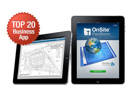 New OnSite PlanRoom for iPad Premieres in Top 20 Business Apps