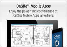 Discover OnSite Mobile Apps for iPhone, iPad, and BlackBerry