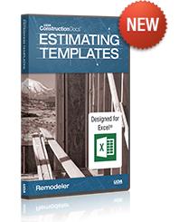 UDA Remodeler Excel® Templates