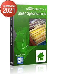 UDA Green Residential Specifications
