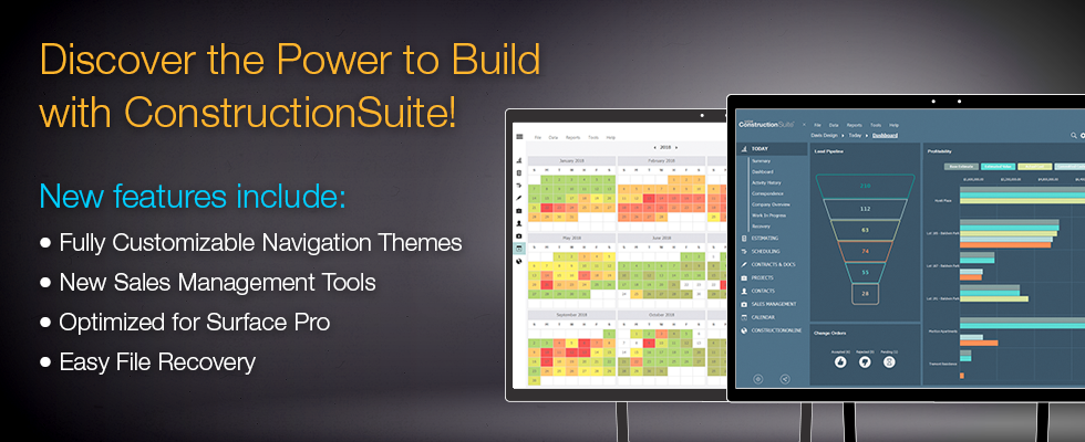 ConstructionSuite Screenshots, Trials & Demonstrations