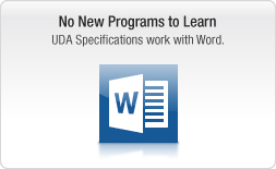 Works with Microsoft Word, Works, and other word processors
