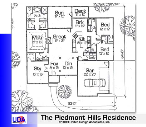 Piedmont Hills Floor Plans