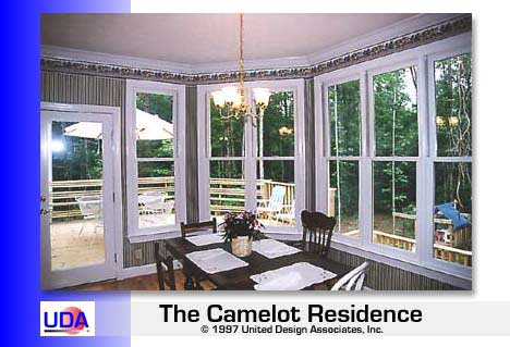 Camelot Breakfast Room View